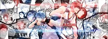 Anime Kurokos Basketball Daiki Aomine Facebook Background TimeLine Cover