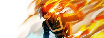 Anime My Hero Academia Boku No Hero Academia Shouto Todoroki Fb Cover
