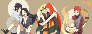 Anime Naruto Day of Mothers Facebook Wall Image