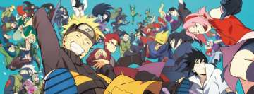 Anime Naruto Happiness Facebook cover photo