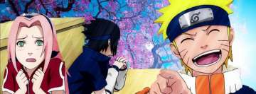 Anime Naruto Sasuke Sakura Facebook Cover Photo