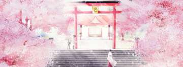 Anime Noragami Yukine and Hiyori Fb Cover