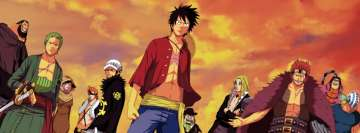 Anime One Piece Poster Facebook Cover-ups