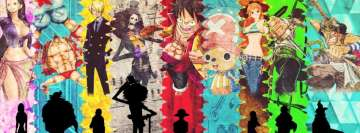 Anime One Piece The Straw Hat Pirates