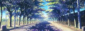 Anime Original Sunny Road Facebook Cover