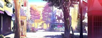 Anime Scenic a Lovely Square Facebook Background TimeLine Cover