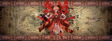 Anime Shinobi Girl Facebook Background TimeLine Cover