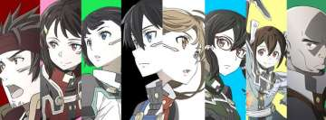 Anime Sword Art Online Movie Ordinal Scale Facebook Cover Photo