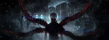 Anime Tokyo Ghoul Facebook Cover-ups