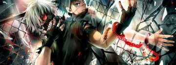 Anime Tokyo Ghoul Sharp Switch Agony Facebook Cover Photo