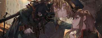 Anime Youjo Senki Tanya Degurechaff Viktoriya Ivanovna Serebryakov Magic Moment Facebook Cover