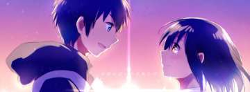 Anime Your Name Love is Hear