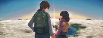 Anime Your Name Lovely Relationship Fb Cover
