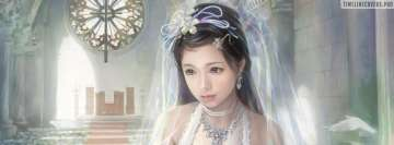Anime Bride Chen Lin Facebook Wall Image