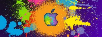Apple Splash Facebook cover photo