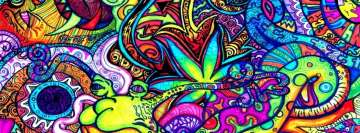 Art Psychedelic Facebook Cover Photo