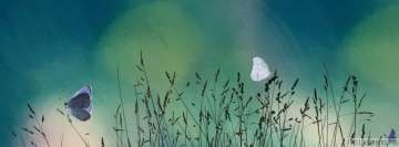 Artistic Butterfly Graphics Facebook Cover