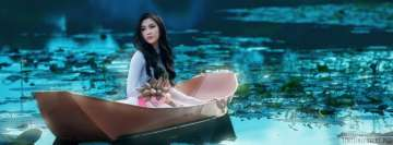 Asian Lady on Boat