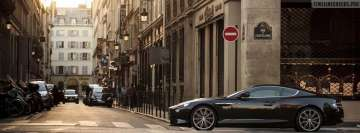 Aston Martin in The City Facebook Background