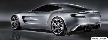 Aston Martin One 77 Facebook Cover-ups