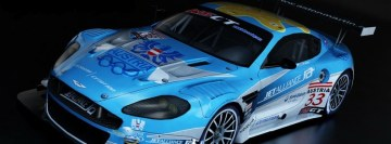 Aston Martin Race Car Facebook Wall Image