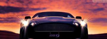 Aston Martin DBS V12 Sports Car Facebook Background