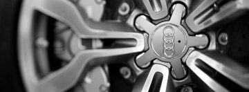 Audi Wheel Facebook cover photo