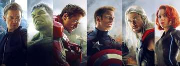 Avengers Age of Ultron Facebook Banner