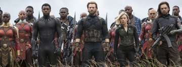Avengers Infinity War Scene Facebook cover photo