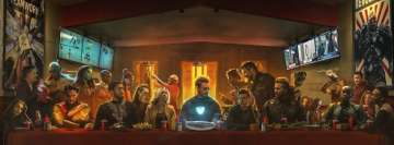 Avengers Infinity War The Last Shawarma Facebook Wall Image