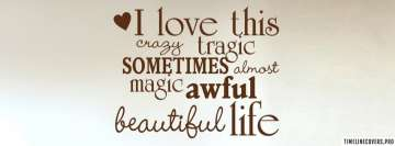 Awful Beautiful Life Facebook Cover-ups