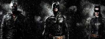 Batman The Dark Knight Rises Facebook Wall Image
