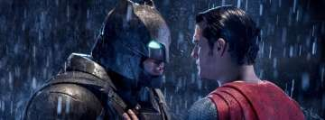 Batman vs Superman Confict Facebook cover photo