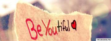 Be You Beautiful Fb Cover