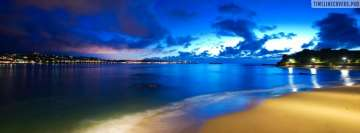 Beach Lights Facebook cover photo
