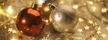 Beautiful Christmas Decorations Facebook Cover Photo