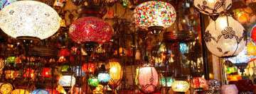 Beautiful Mosaic Lantern Shop