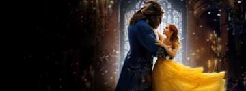 Beauty and The Beast 2017 Dan Stevens Emma Watson Facebook Wall Image