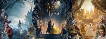 Beauty and The Beast 2017 Poster Facebook Cover Photo