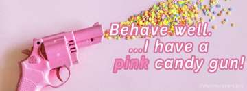 Behawe Well Pink Candy Gun