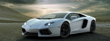Belaya Lamborghini Aventador Facebook cover photo