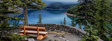 Bench at The Lake Landscape