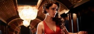 Berenice Marlohe in Red Facebook cover photo
