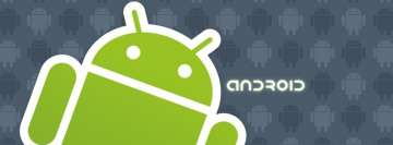 Big Green Android Facebook Wall Image