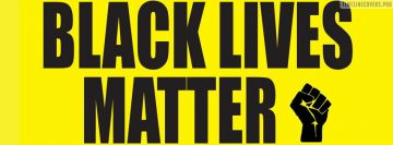 Black Lives Matter with Fist Blm