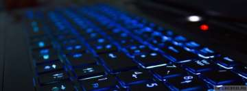 Blue Keyboard Facebook Cover-ups