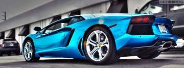 Blue Lamborghini Facebook Cover-ups