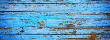 Blue Wood Facebook Cover