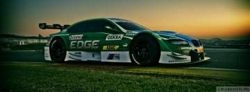 BMW M3 DTM Race Car Facebook Wall Image