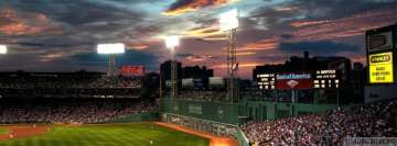 Boston Fenway Park Red Sox Facebook Wall Image